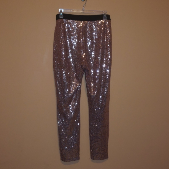 project RUNWAY Pants - Sequined pants